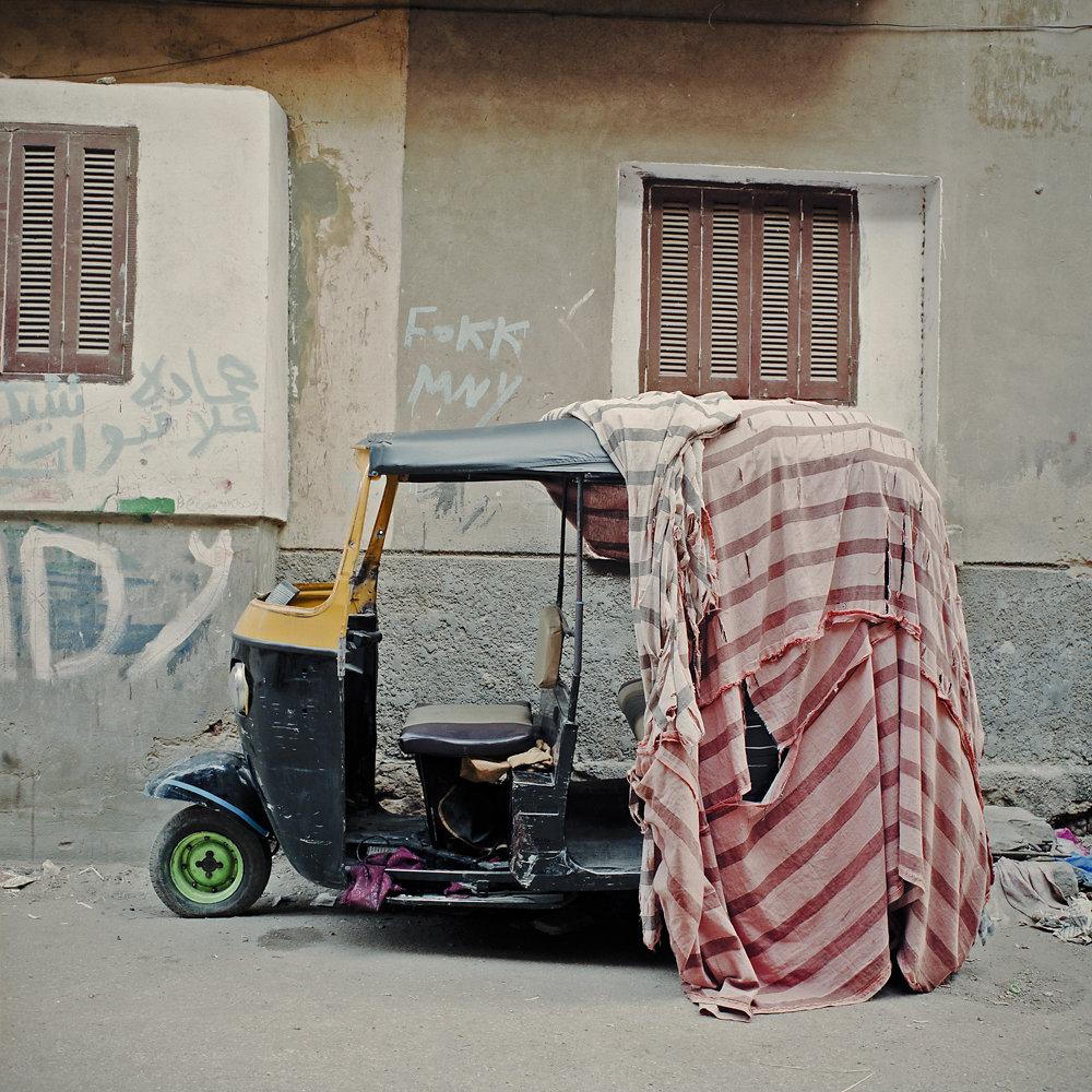 Cairo: rickshaw / Le Caire: Tuk-Tuk